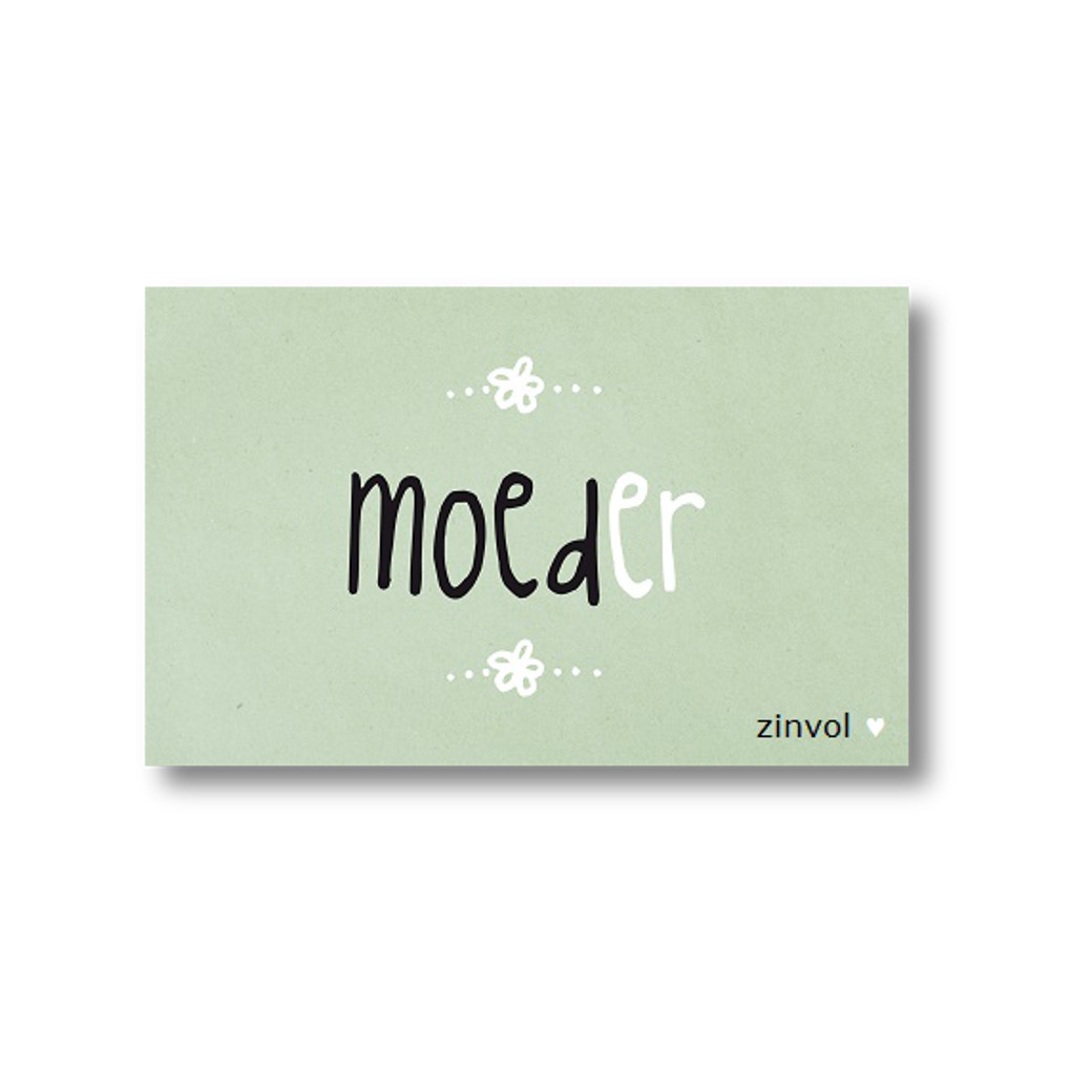 ZINVOL kaart - MOEDer -