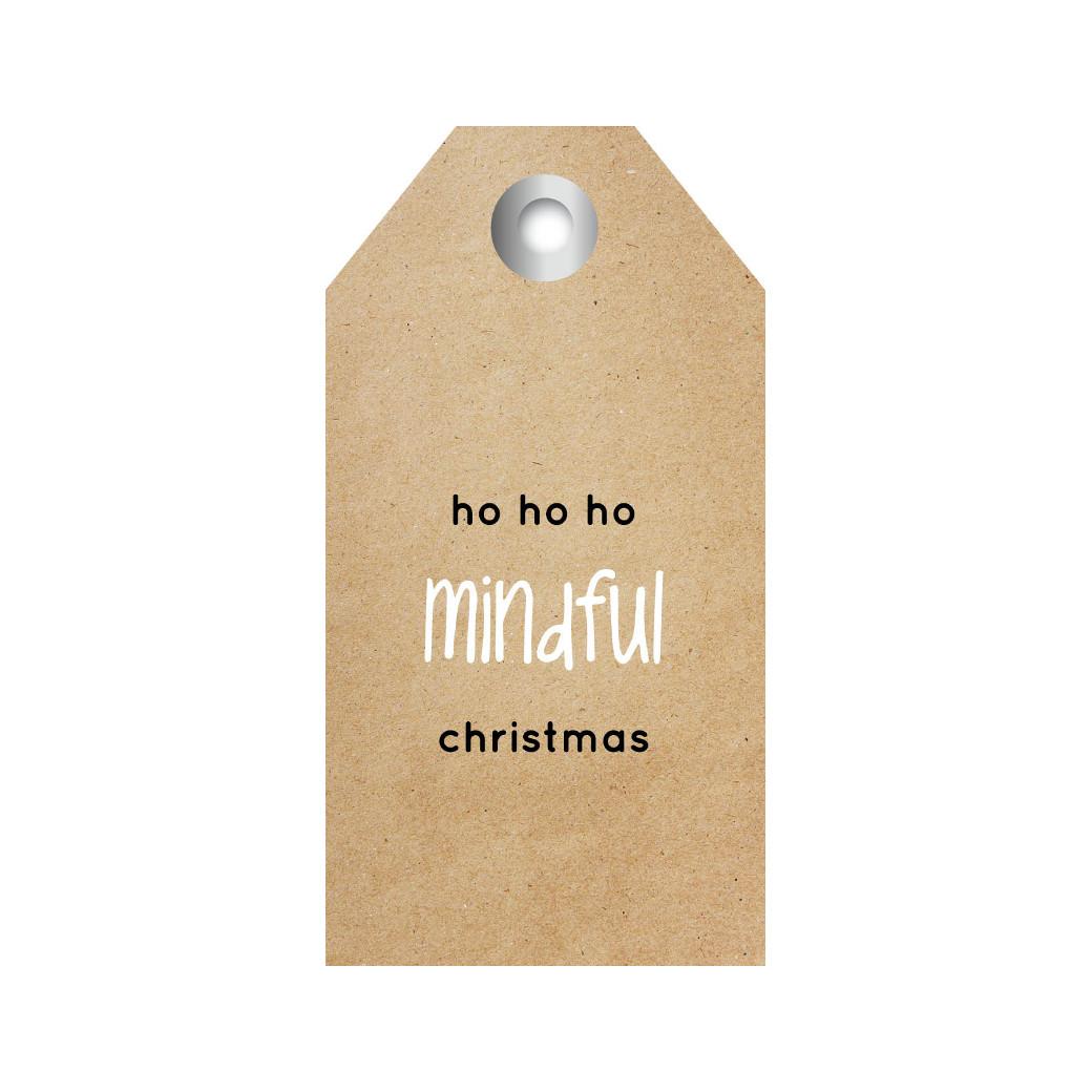 ZINVOL kadokaart - Ho ho ho mindful christmas - 5 stuks